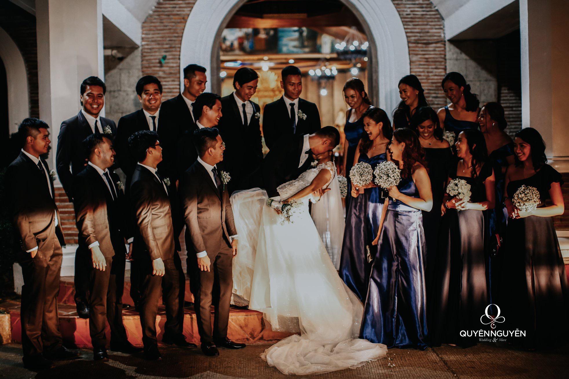 Đám cưới cô dâu Denise từ Philippine