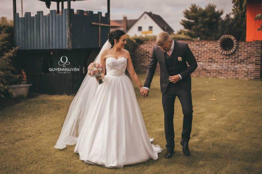 Váy cưới cô dâu Lisa