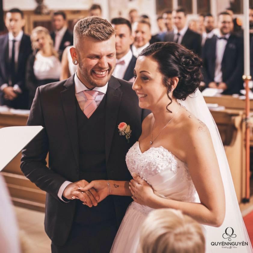 Đám cưới của cô dâu Lisa
