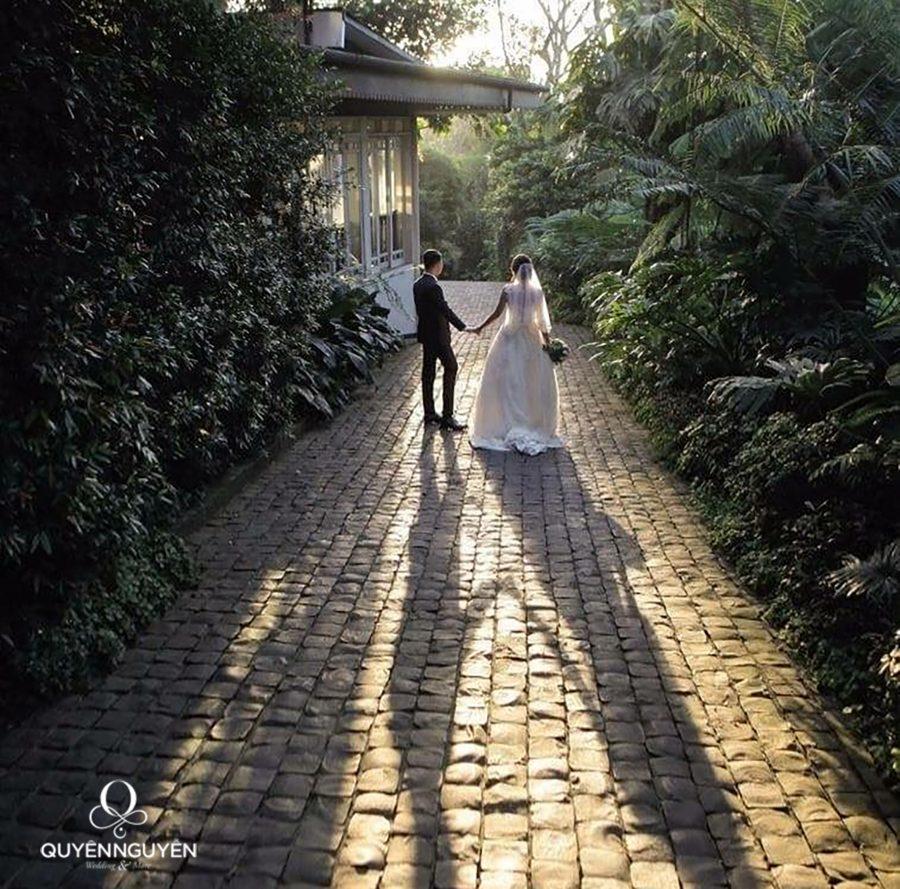 Cô dâu Joanne và chú rể