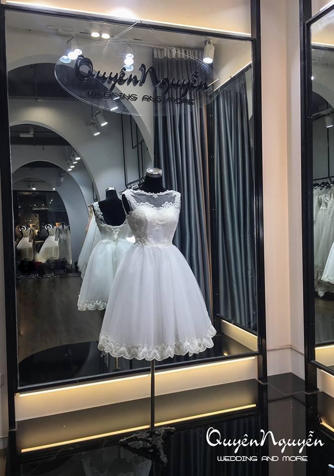 Váy cưới thiết kế độc bản