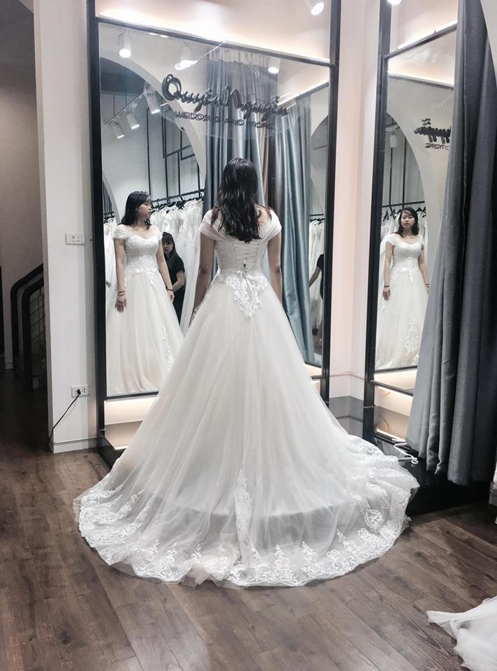 Váy cưới dành riêng cô dâu