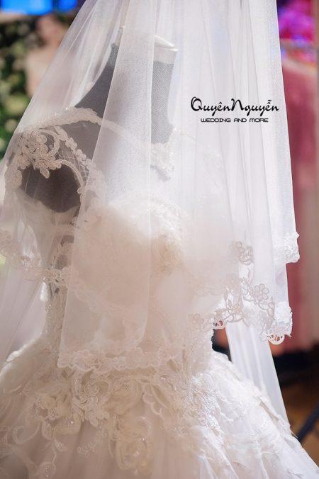 Váy cưới quyên nguyễn