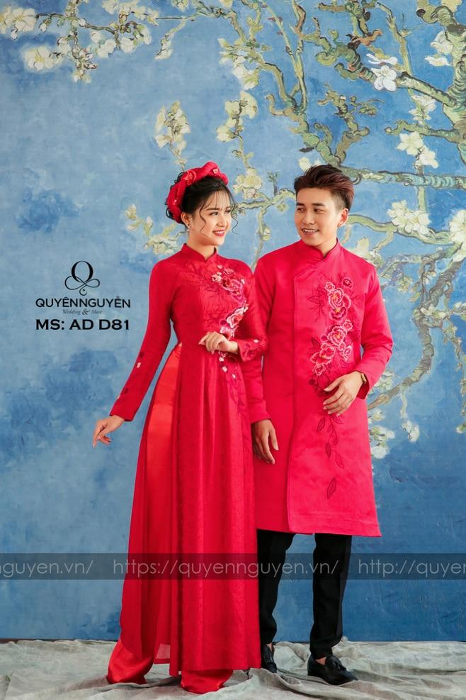 Áo đai đôi đỏ D81