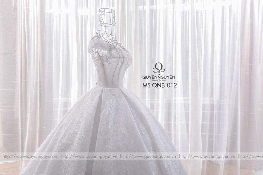 Váy cưới bồng công chúa QNB 012