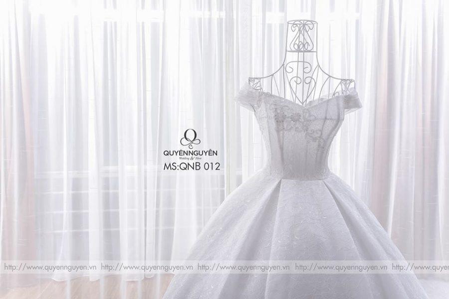 Váy cưới công chúa QNB 012