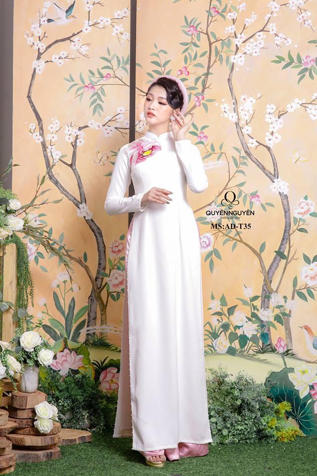 Mẫu áo dài đón dâu