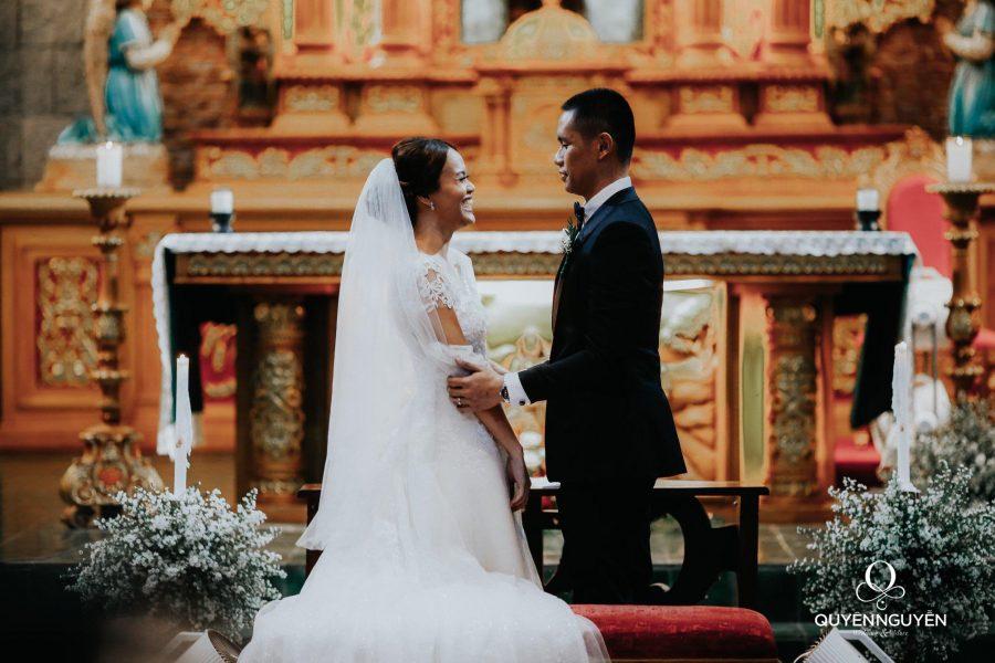 Váy cưới cho cô dâu Denise