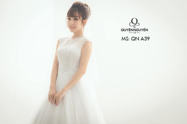 Váy cưới dáng A QNA 39