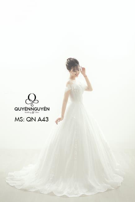 Váy cưới dáng A QNA 43