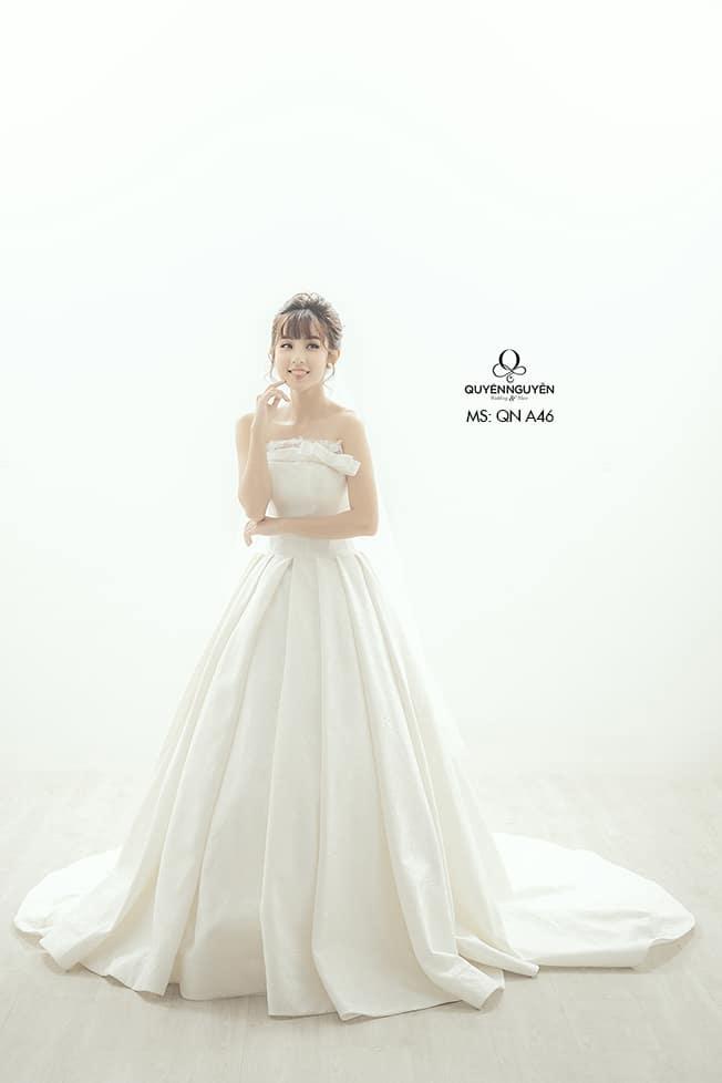 Váy cưới dáng A QNA 46