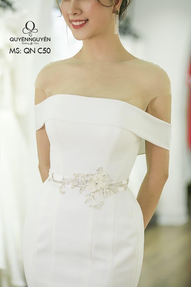Váy cưới đuôi cá QNC 50