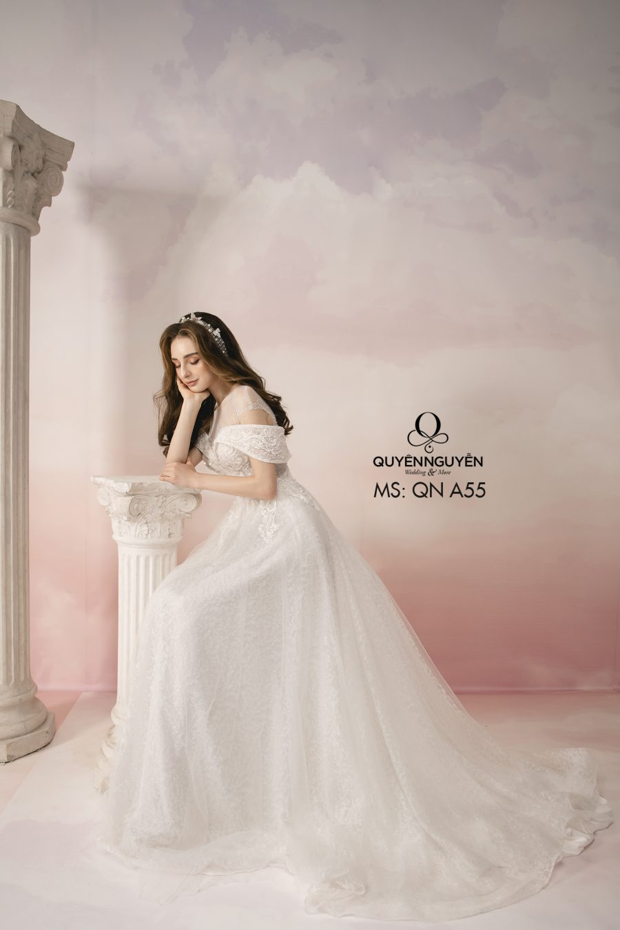 Bộ sưu tập váy cưới đơn giản 2019