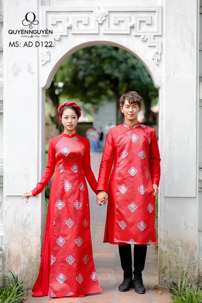 Áo dài cưới theo đôi