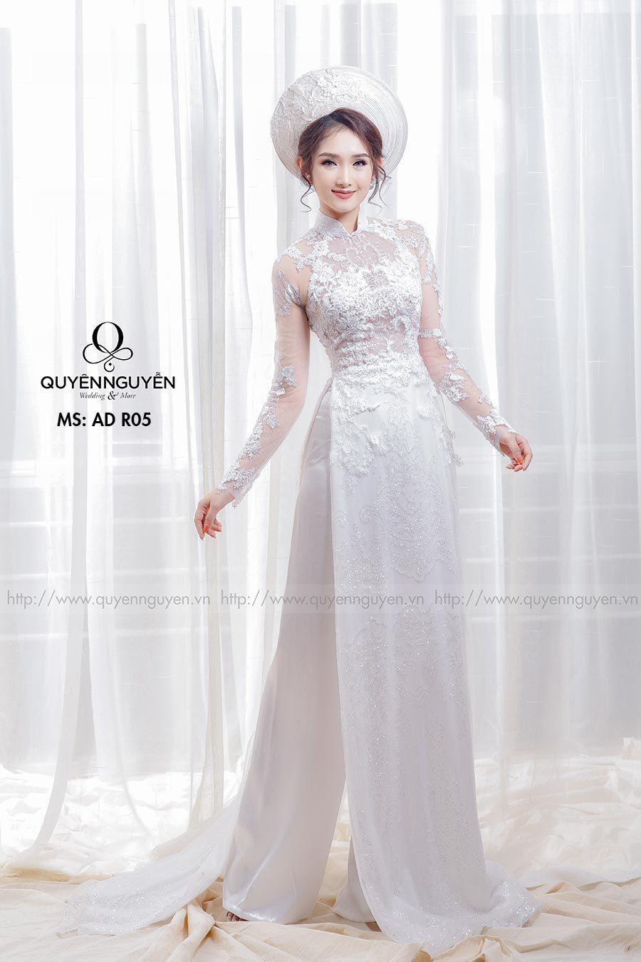 Top 10 mẫu áo dài cưới đẹp 2020 ưng ý cho cô dâu