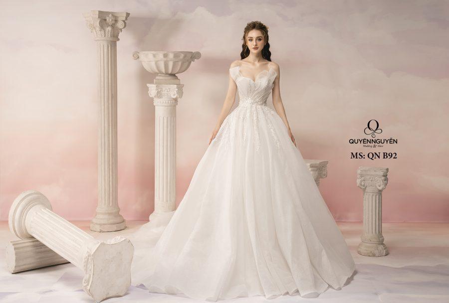Top 5 váy cưới 2020 nhẹ nhàng, thanh lịch cho cô dâu