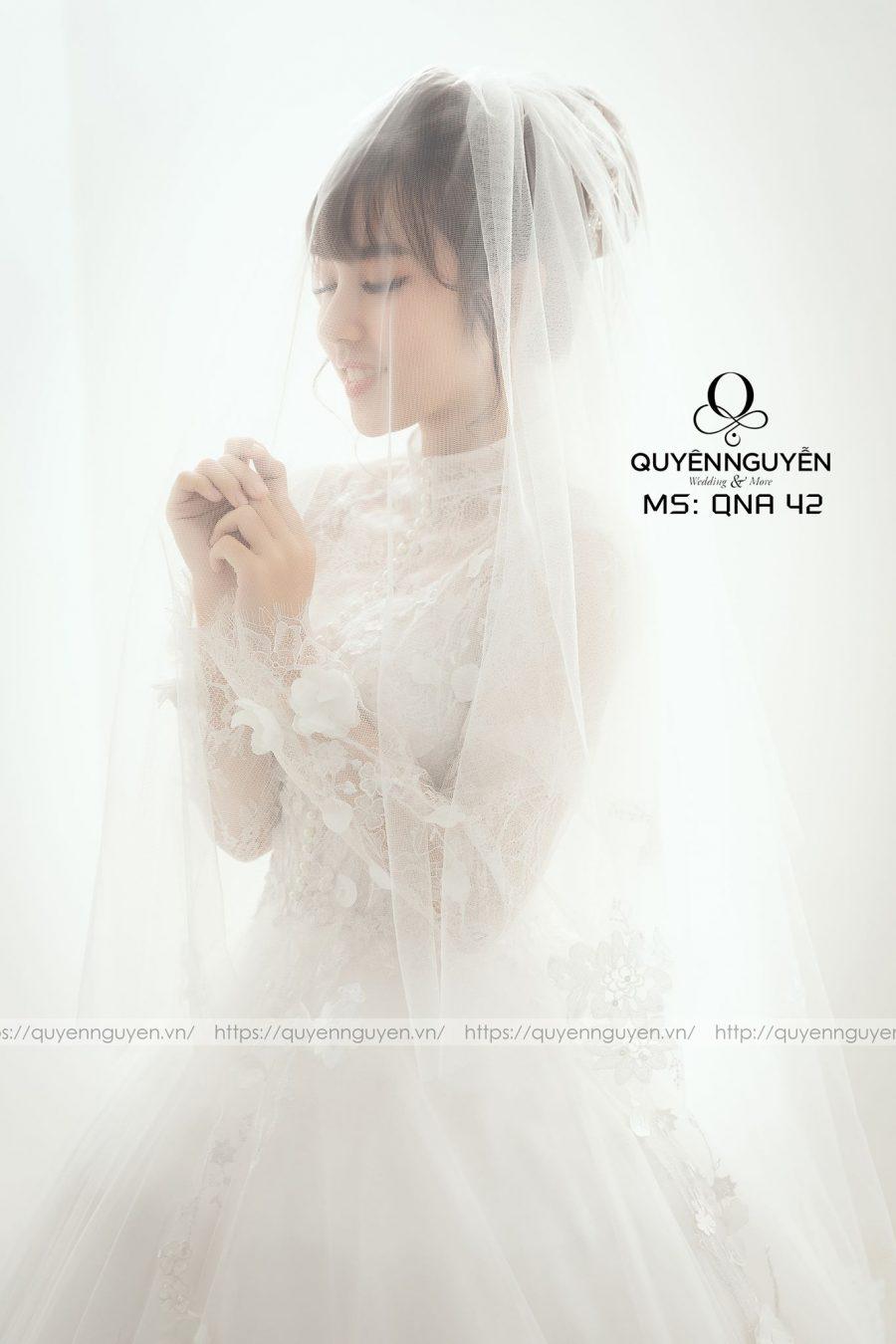 Tổng hợp váy cưới ren mới nhất