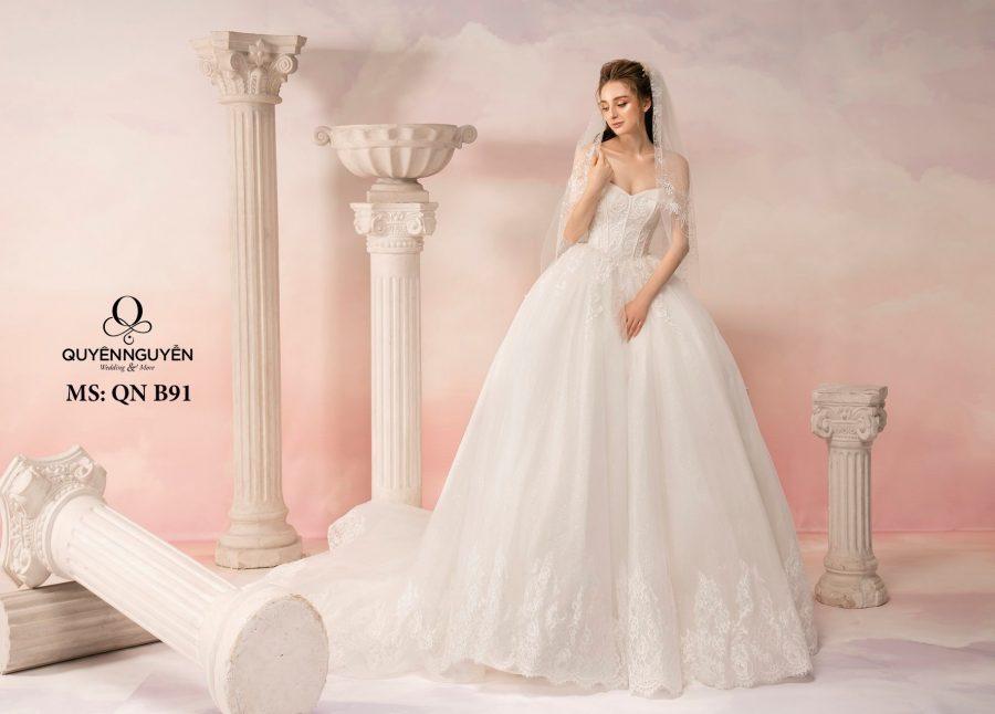 Cửa hàng váy cưới Hà Nội đẹp, giá rẻ?