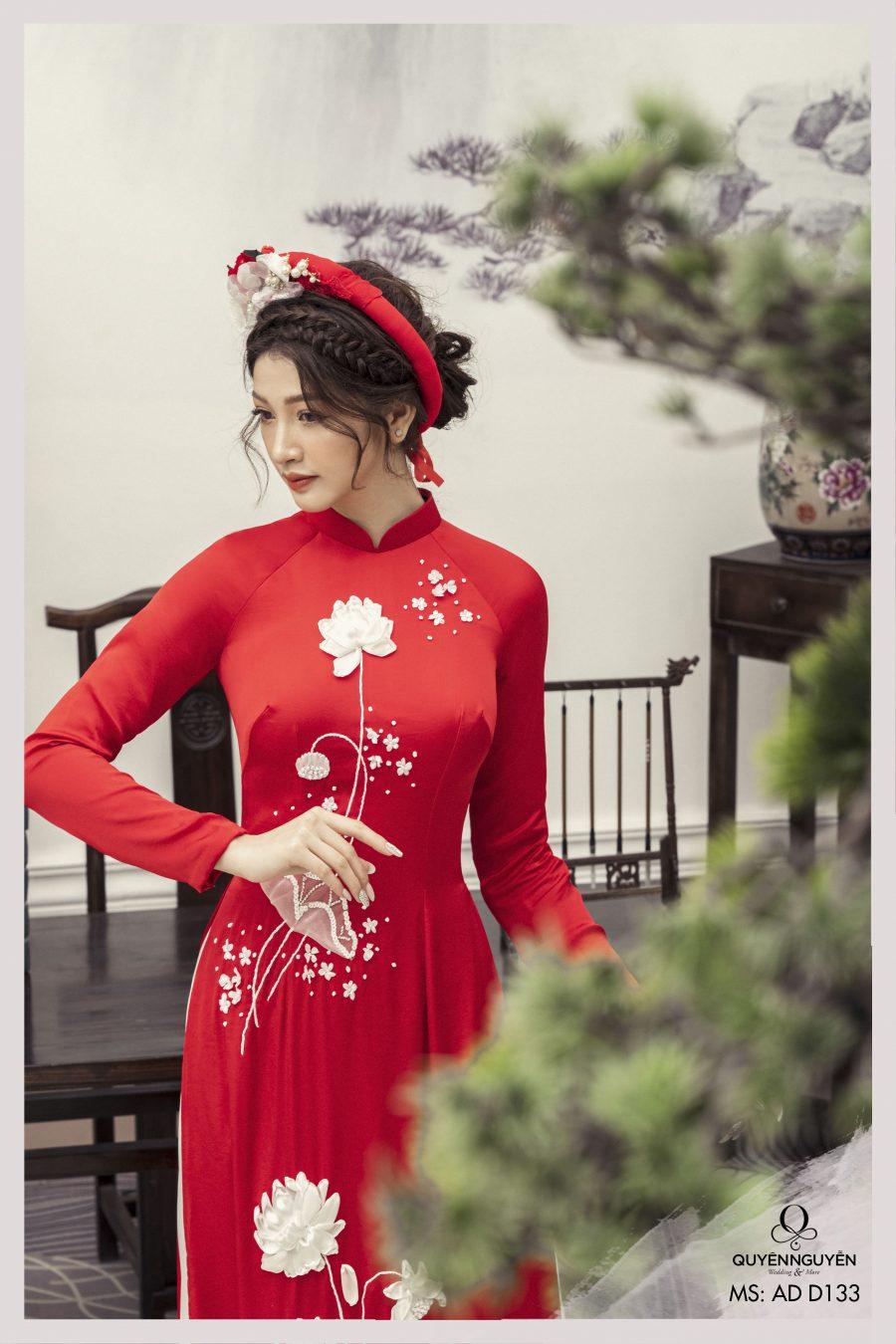 Bộ sưu tập áo dài cưới đẹp nhất 2021 tại Quyên Nguyễn Bridal