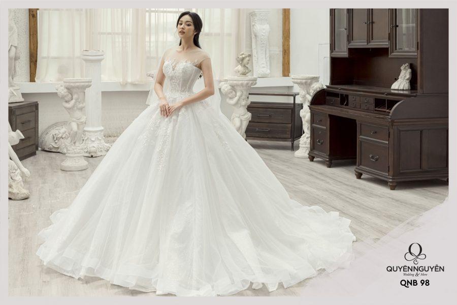 Quyên Nguyễn Bridal – địa điểm cho thuê váy cưới 2021 lý tưởng