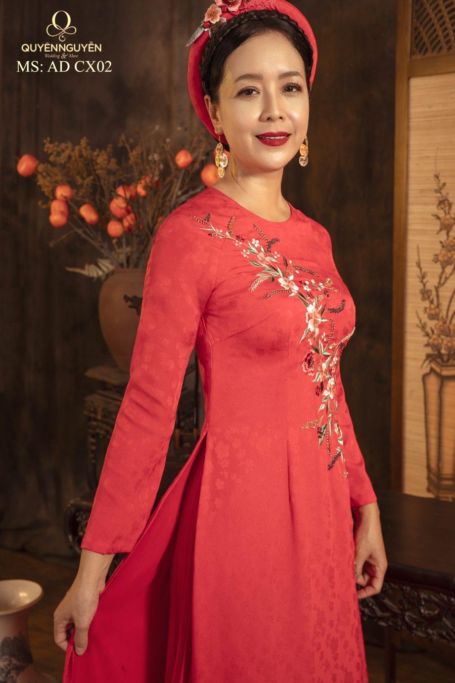 Những mẫu áo dài bà sui cho người béo ấn tượng nhất tại Quyên Nguyễn Bridal